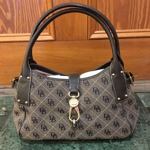 Dooney and Bourke quilted carry all purse